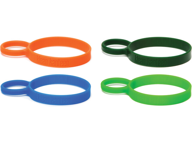 Klean Kanteen Silicone Pint Ring 4 Pack multi color